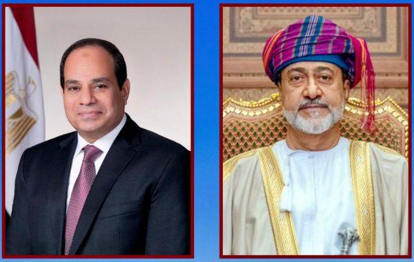 سلطان عُمان يهنئ الرئيس السيسي بذكرى السادس من أكتوبر